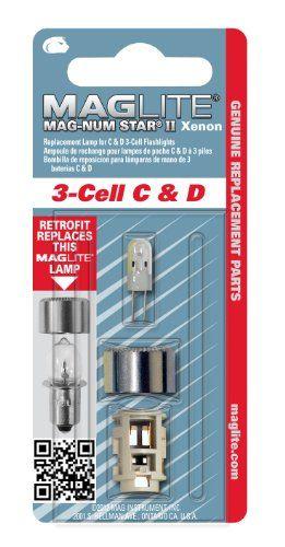 Maglite Magnum Star II Ampoule 3C xénon: La nouvelle lampe MAG-NUM STAR® II est une nouvelle génération d'ampoule au Xénon à haute…