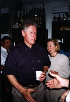 Coffee with Bill Clinton