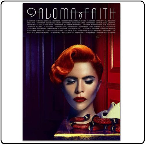 Paloma Faith - Tour Itinerary
