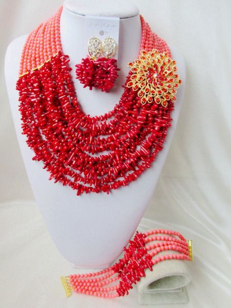 Find More Jewelry Sets Information about 2016 Trendy African beads jewelry set red coral beads bride jewelry nigerian wedding african beads jewelry Set SS 011,High Quality jewelry frame,China jewelry harness Suppliers, Cheap jewelry egg from Chinese jewelry import and export co., LTD on Aliexpress.com