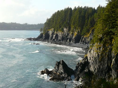 We discovered this view of the Kodiak Island coast, on a hiking cruise excursion with Regent Seven Seas. #Alaska