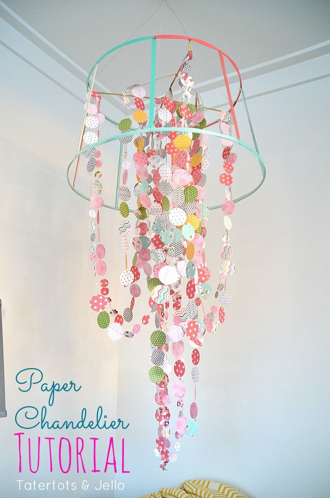 6 Lovely Chandeliers You Can Make Yourself