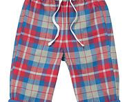 These trousers are great as they have a stretchy waist for optimum comfort and a elasticated waist and drawcord they are extra comfy and and speedy to change.  100% Organic Cotton.  Machine washable