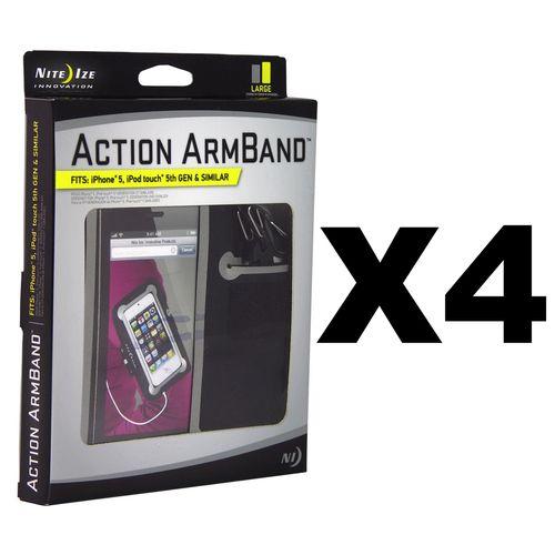 Nite Ize Action ArmBand - Large (4-Pack)