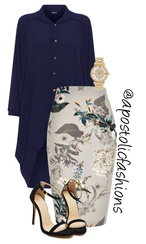 """""""Apostolic Fashions #1837"""" by apostolicfashions on Polyvore featuring WearAll, River Island and Michael Kors"""