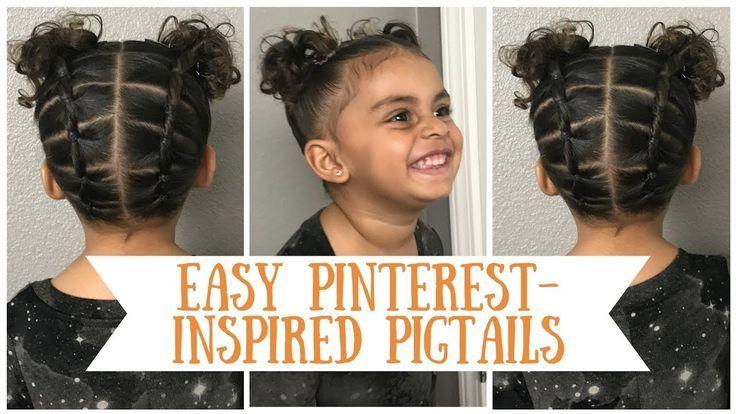 Easy Beginner Pinterest Inspired Pigtail Hairstyle Tutorial