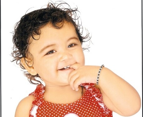 baby smile...