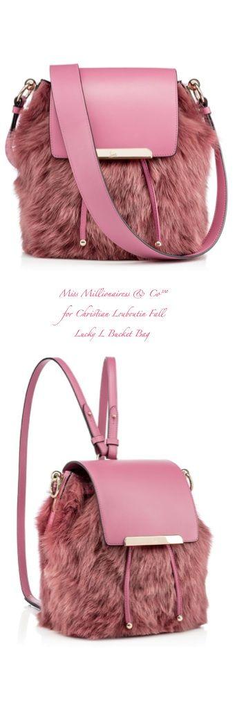 Christian Louboutin Fall 2015 Lucky L Bucket Bag - Miss Millionairess  Co™