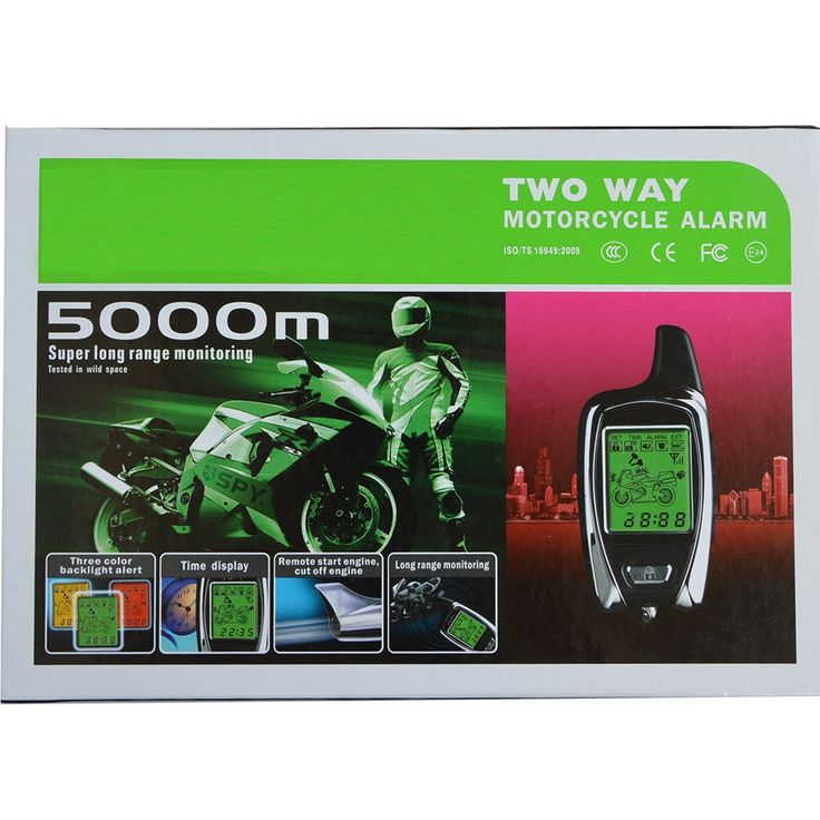 Wholesale prices US $69.79  BANVIE High Quality Original from SPY 5000m Two Way Anti - theft Motorcycle Alarm With 2 LCD Transmitters Remote Engine Start  #BANVIE #High #Quality #Original #from #Anti #theft #Motorcycle #Alarm #Transmitters #Remote #Engine #Start  #Internet