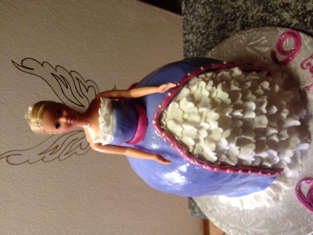 Barbie fairy cake