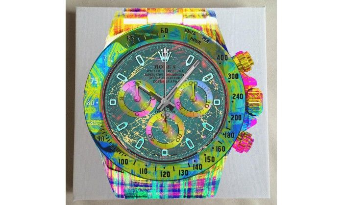 Daytona Fluo Watch On White - Limited Edition of 20 only