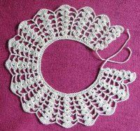 In German - might need @Nicole Anguiano 's help for this one Crochet collar free pattern