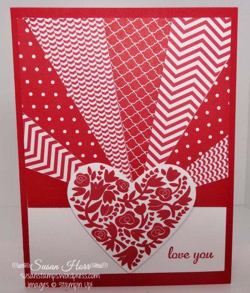 1432 best VALENTINE CARDS images on Pinterest | Homemade cards ...