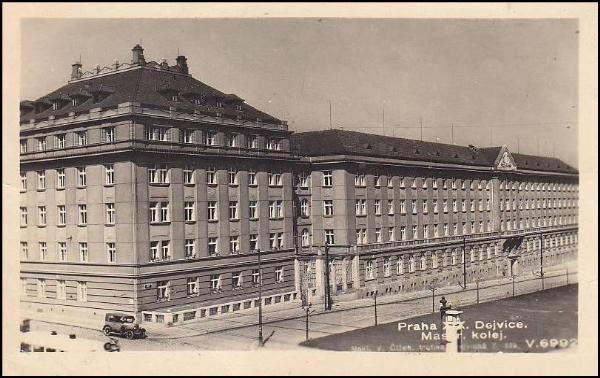 Prague-Dejvice, 1948 | Masaryk´s Campus