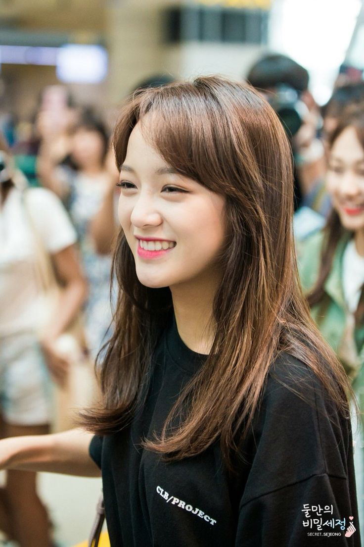 Kim Sejeong at Incheon Airport