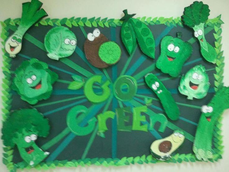 vegetable bulletin board | ... Word Choices Bulletin Board » Great Artwork Spring Bulletin Board