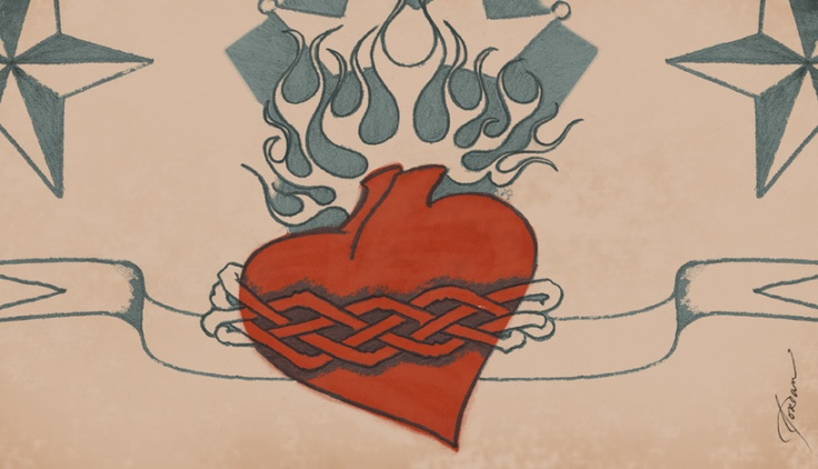 'The Tattoo' written by Stacy Poole Illustration by Jordan Wester