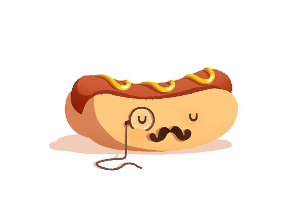 Hot Dog by ANNEKA TRAN