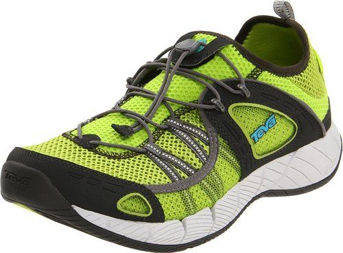 Teva Men's Churn Performance Water Shoe,Lime Green,7 M US