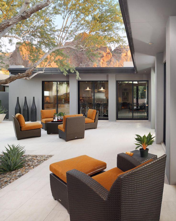 Asian Contemporary Modern Landscape / Garden / Patio Design Photo By Carson  Poetzl Inc. Album