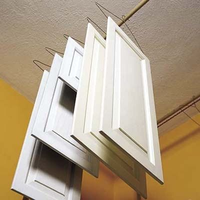 Since I'll probably be doing this soon....pro secrets for painting kitchen cabinets