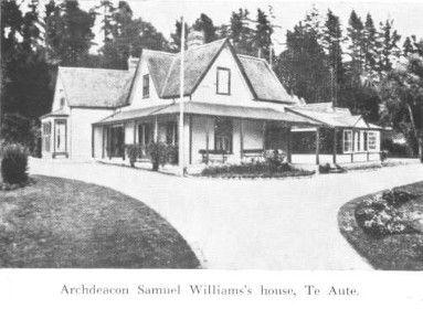 Archdeacon Samuel William's house, Te Aute
