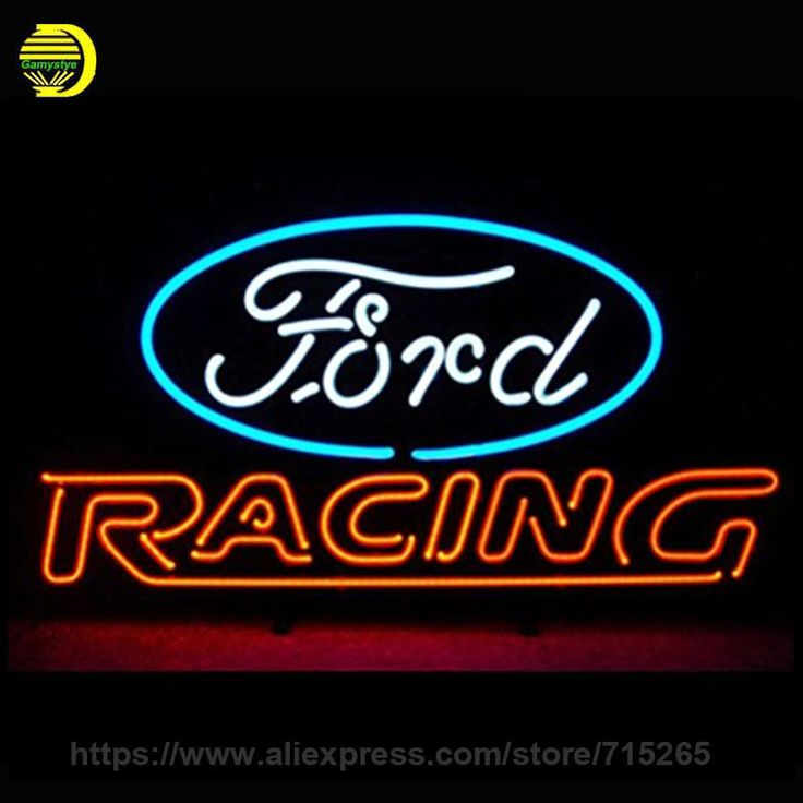 ord American Auto Racing Neon Sign Decorate Glass Tube Car Neon Bulb Recreation Room Indoor Frame Sign Store Wall Displays 24x20 #Affiliate