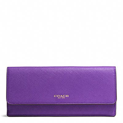 Leather Wallets for Women at COACH I think I saved myself $200, got a beautiful leather wallet without the showy brand-name!!