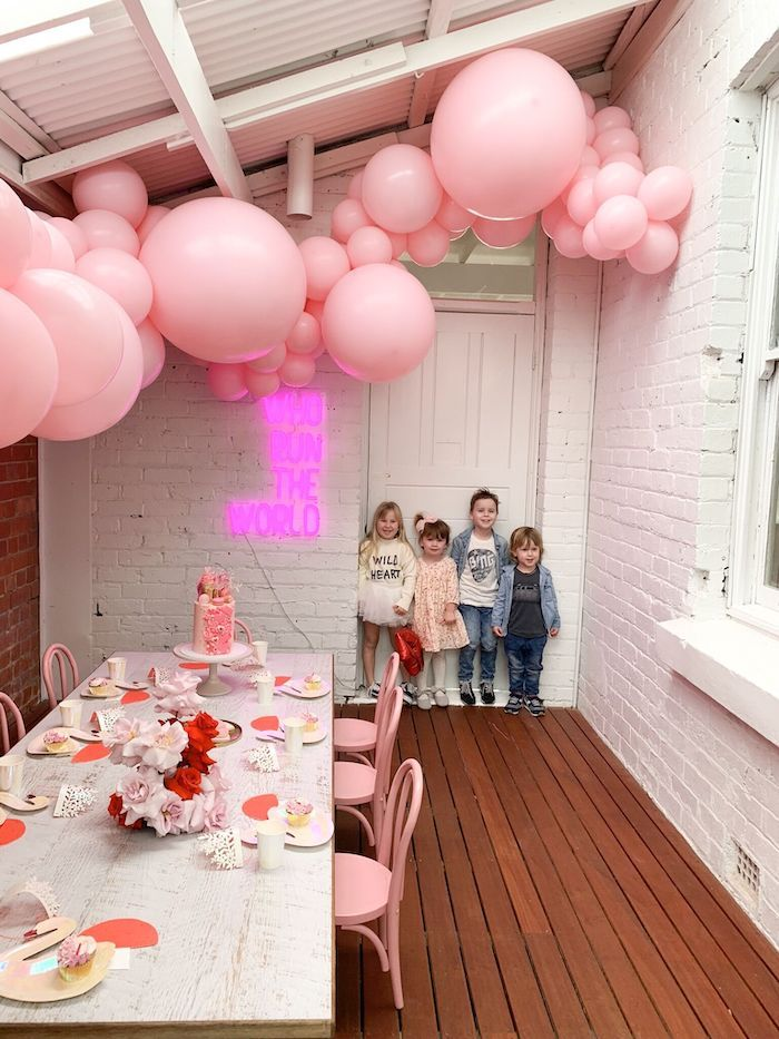 Princeess Party Birthday Party Ideas Photo 3 Of 10 Birthday Party For Teens Princess Theme Party Unicorn Birthday Parties