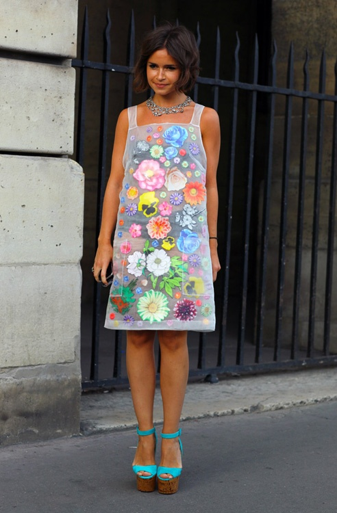 Miroslava Duma. There is something so adorable and spirited about this dress.