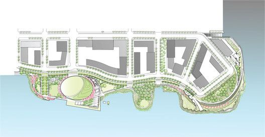 Hunter's Point South Waterfront Park,Floor Plan