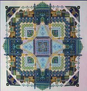 Persian Iris Garden