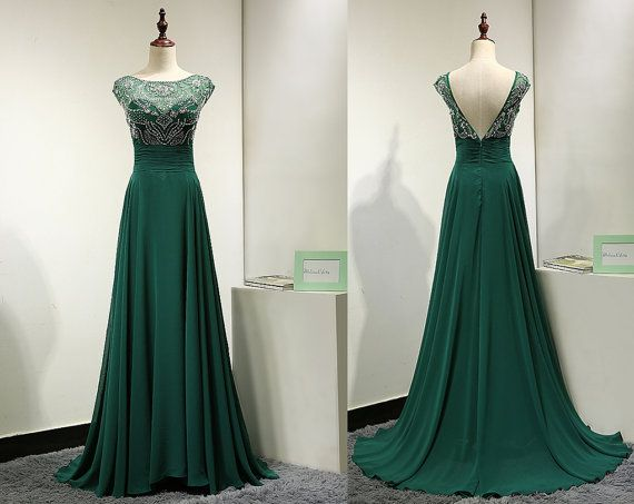 17 Best ideas about Emerald Green Evening Dress on Pinterest ...