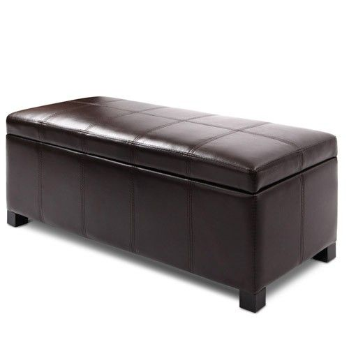 Ottomans Deacon Beige Upholstered Blanket Box: 17 Best Images About Storage Ottoman On Pinterest