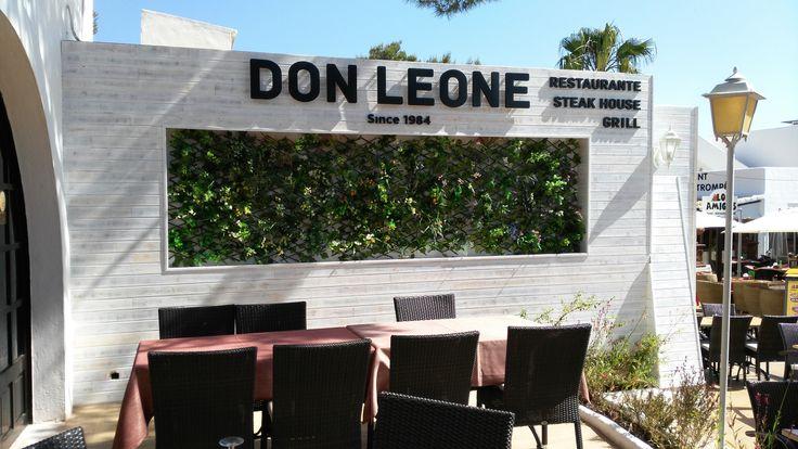 letras #corpóreas / DON #LEONE letrero en #pvc con iluminación. Solicita presupuesto para tu proyecto en www.luminososmca.com