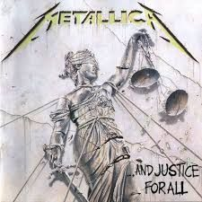 Metallica - ...And Justice for All. Blackened; ...And justice for all; Eye of the beholder; One; The shortest straw; Harvester of sorrow; The frayed ends of sanity; To live is to die; Dyers eve.
