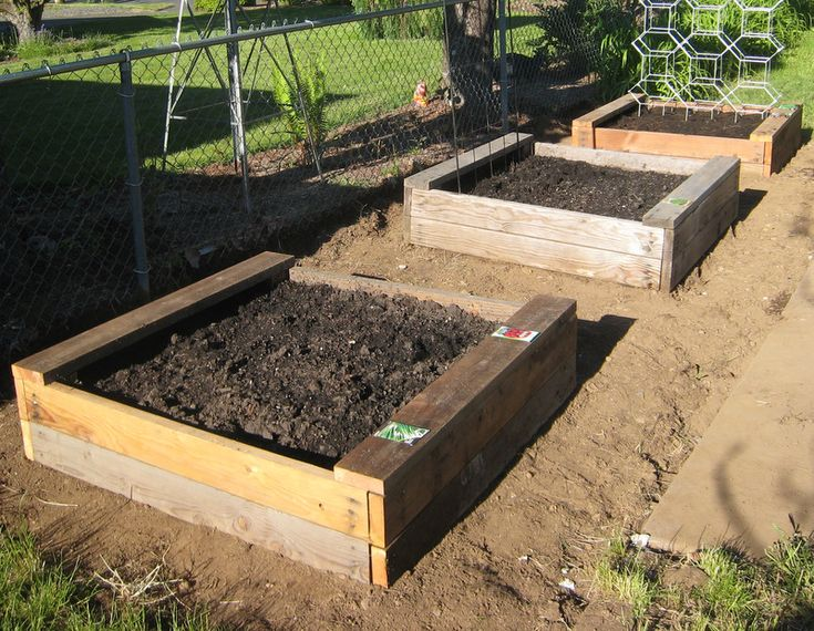74 best vegetable garden images on pinterest for Garden planter plans