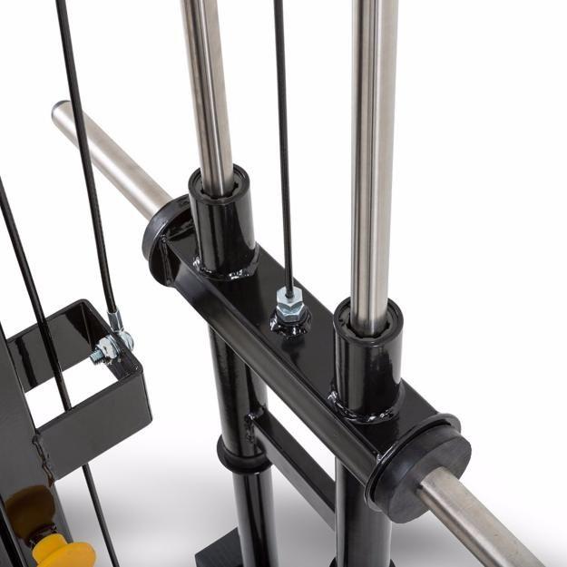 Máquina De Musculación Multipress Tipo Smith Con Estación De Poleas Megatec Gimnasio En Casa Equipo De Gimnasio En Casa Maquinas De Gym