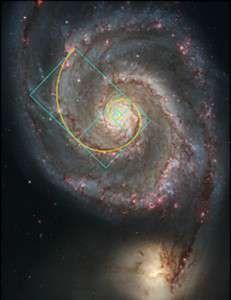 Galaxii Fibonacci