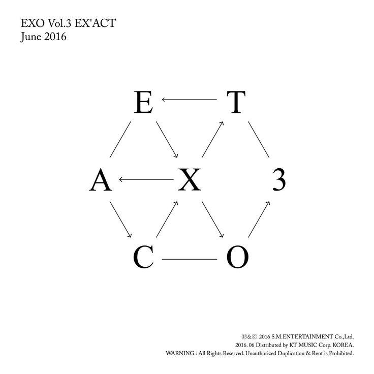 [Album] EXO – EX'ACT – The 3rd Album (Korean + Chinese Version) (MP3 + iTunes Plus AAC M4A)