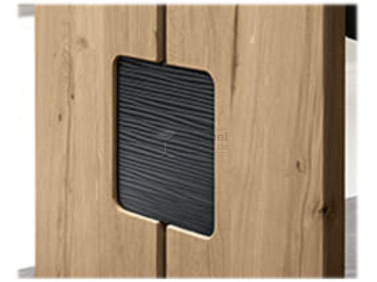Wössner Monte Eckbank Außenseiten Ausführung A Applikation wählbar Holz Wildeiche natur oder Rotkernbuche natur