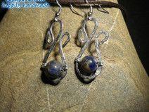 """orecchini """"Luna blu"""""""