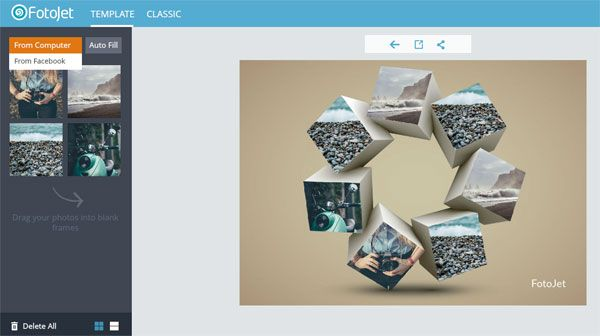 FotoJet is a FREE online collage maker and poster designer tool. It's one of the best collage makers I found till now!