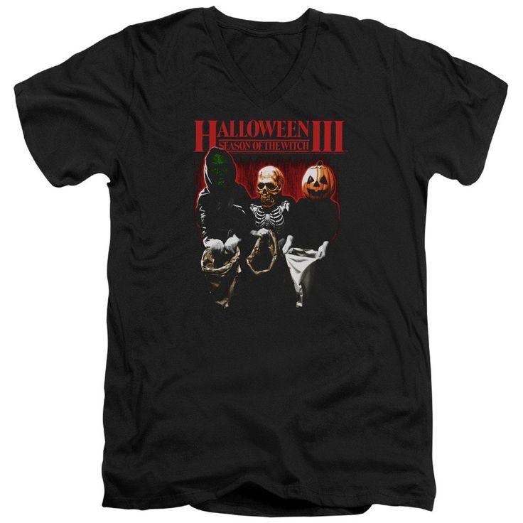 Halloween Iii - Trick Or Treat Adult V-Neck T-Shirt
