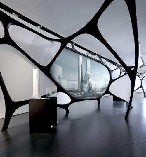 Inspiration Future House Institut Du Monde Arabe By Zaha Hadid Futuristic Interior Design