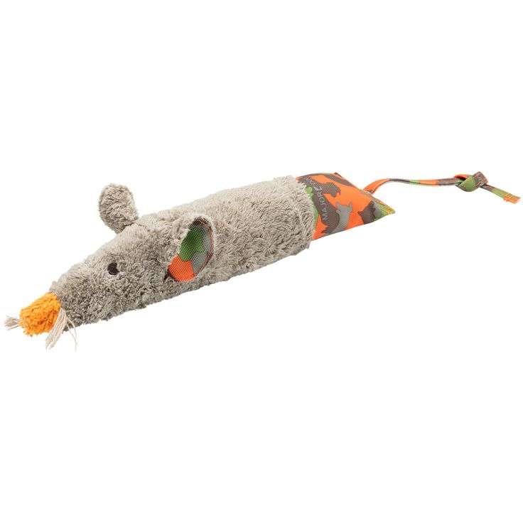 MAJOR DOG Hundespielzeug Ratzi Rat bunt, Länge ca. 47 cm
