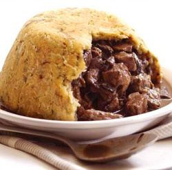 Steak and Ale Steamed Pudding