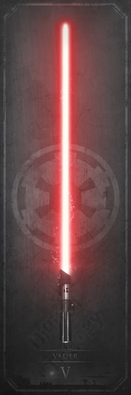 Elegant Weapons: Lightsabers - Created by Anthony Genuardi