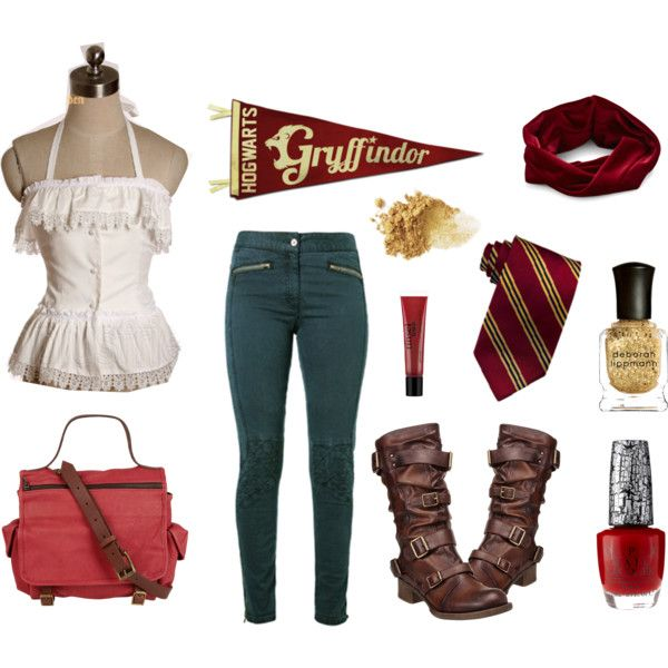 Gryffindor Girl Harry Potter House Inspired Fashion I