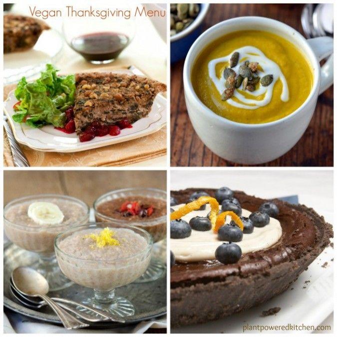 Healthy #Vegan Thanksgiving Recipes: From Brunch to Dinner to Dessert!